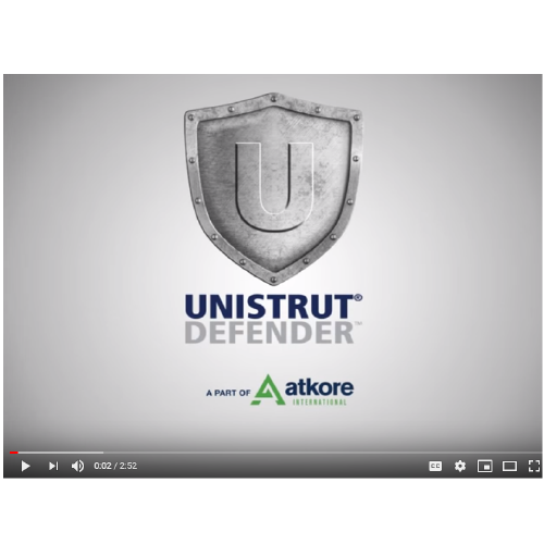 Unistrut Defender Video - Image 1-01